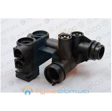 Правый гидравлический узел на газовый котел Chaffoteaux Elexia, Elexia Comfort 61301936