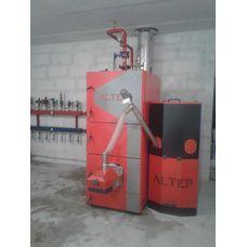 Установка пеллетного котла Альтеп 100 кВт
