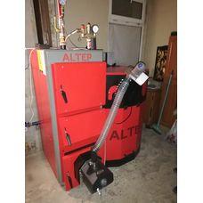 Установка пеллетного котла 30 кВт